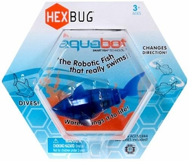 Hexbug Aquabot 3 Inch Electronic Pet Blue Shark