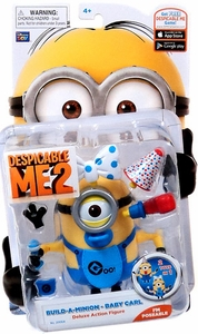 Despicable Me 2 Deluxe 4 Inch Action Figure Build-A-Minion Baby Carl