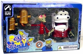 Ren & Stimpy Wizard World Exclusive Fire Dogs Collectible Figure Set