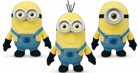 Despicable Me 2 Bean Bag Plush 3-Pack Minions [Stuart, Dave & Tim]