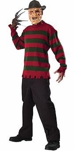 Nightmare on Elm Street Costume Deluxe Adult Freddy Sweater (Adult Standard Size) #56045