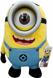 Despicable Me 2 Jumbo 16 Inch Talking Plush Figure Minion Stuart [One Eye]