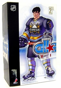 Upper Deck Authenticated All Star Vinyl Figure Alexander Ovechkin (Black Home Jersey) Limited to 1500 Pieces BLOWOUT SALE!