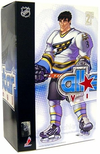 Upper Deck Authenticated All Star Vinyl Figure Alexander Ovechkin (White Away Jersey) Limited to 500 Pieces