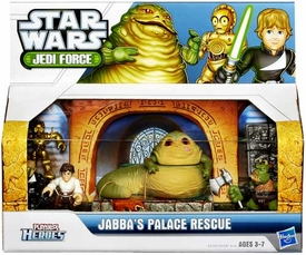 Star Wars 2013 Playskool Jedi Force Adventure Pack Jabba Palace Rescue