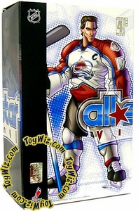 Upper Deck Authenticated All Star Vinyl Figure Joe Sakic (White Away Jersey) Limited to 500 Pieces BLOWOUT SALE!