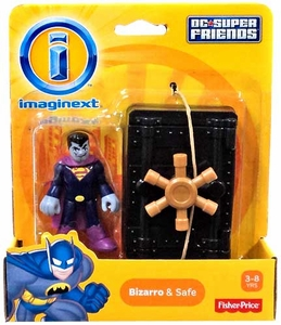 Imaginext DC Super Friends Mini Figure 2-Pack Bizarro & Safe
