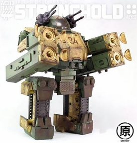 Oritoys Acid Rain 3.75 Inch Scale Transforming Vehicle Stronghold [303th Marine] Pre-Order ships March