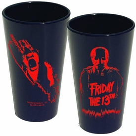 Friday The 13th Silohouette Pint Glass Jason Pre-Order ships July