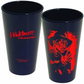 Nightmare on Elm St Silohouette Pint Glass Freddy Pre-Order ships April