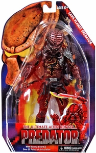 NECA Predator Movie Series 10 Action Figure Lava Planet Predator