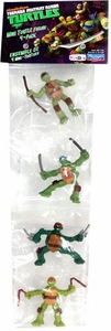 Teenage Mutant Ninja Turtles Exclusive Mini Figure 4-Pack Michelangelo, Donatello, Raphael & Leonardo