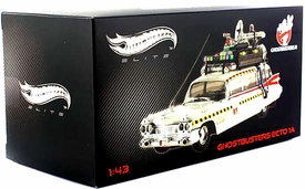 Hot Wheels 1:43 Die Cast Vehicle Ghostbusters 2 Ecto 1A