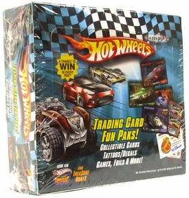 Hot Wheels Trading Card Fun Paks Booster Box