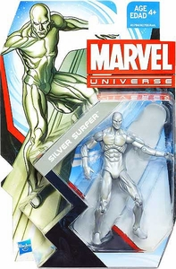 Marvel Universe 3 3/4 Inch Series 22 Action Figure #001 Silver Surfer