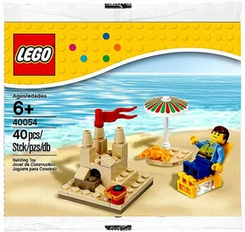 LEGO Seasonal Set #40054 Summer Beach Scene [Bagged]