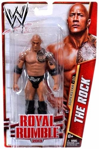 Mattel WWE Wrestling Basic Series 32 Action Figure #50 The Rock