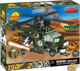 COBI Blocks Small Army #2307 Vulcan Helicopter
