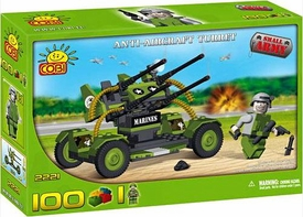 COBI Blocks Small Army #2221 Anti-Aircraft Turret