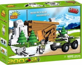 COBI Blocks Small Army #2323 Mountain Hideout