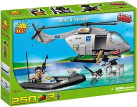COBI Blocks Small Army #2354 Black Shark