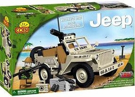 COBI Blocks Small Army #24113 Jeep Willys MB with Minigun