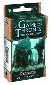 Game of Thrones Lcg Forgotten Fellowship Chapter Pack Pre-Order ships April