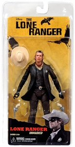 NECA Lone Ranger Movie Series 2 Action Figure Unmasked Lone Ranger [Armie Hammer] BLOWOUT SALE!