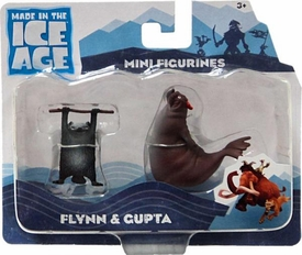 Ice Age Continental Drift Movie LOOSE Mini Figure 2-Pack Flynn & Gupta