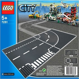 LEGO City Set #7281 T-Junction & Curves