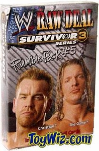 WWE Raw Deal Card Game Survivor Series 3 Rumble Pack #5