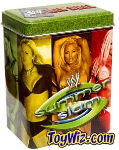 WWE Raw Deal Card Game Summerslam Tin