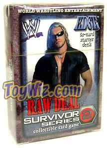 WWE Raw Deal Survivor Series 2 Starter Deck Edge