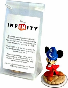Disney Infinity Exclusive Game Figure Sorcerer's Apprentice Mickey Only 5,000 Made!