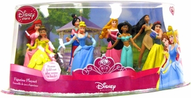 Disney Princess Exclusive 8 Piece PVC Mini Figurine Collector Set [Snow White, Cinderella, Aurora, Ariel, Belle, Jasmin, Pocahontas & Mulan]