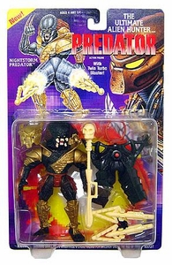 Predator Kenner Vintage 1994 Action Figure Nightstorm Predator [with Twin Turbo Blaster]