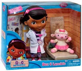 Disney Doc McStuffins Action Figure Doll 2-Pack Doc McStuffins & Lambie