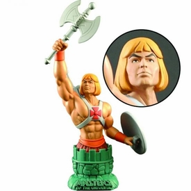 Masters of the Universe Mini-Bust Paperweight He-Man with Battleaxe Pre-Order ships July