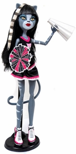 Monster High Fearleading Exclusive LOOSE Doll Purrsephone