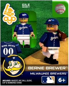 OYO Baseball MLB Building Brick Minifigure Bernie Brewer [Milwaukee Brewers Mascot]