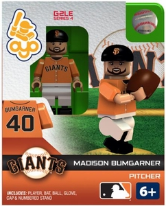 OYO Baseball MLB Generation 2 Building Brick Minifigure Madison Bumgarner [San Francisco Giants]