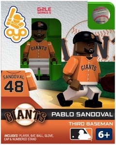 OYO Baseball MLB Generation 2 Building Brick Minifigure Pablo Sandoval [San Francisco Giants]