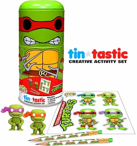 Funko Teenage Mutant Ninja Turtles Tin-Tastic Creative Activity Set Raphael