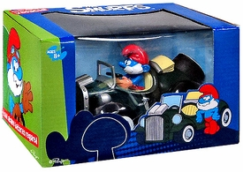 Goldie The Smurfs Diecast Car Papa Smurf