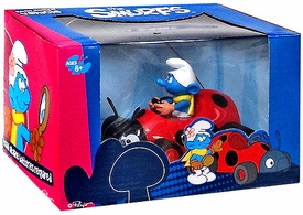 Goldie The Smurfs Diecast Car Vanity Smurf
