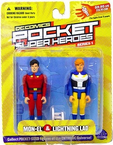 DC Direct Pocket Super Heroes Series 1 Mon-El & Lightning Lad