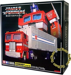 Transformers Takara Masterpiece Collection MP-04 Optimus Prime Convoy with 1:24 Scale Trailer (Complete Version!)