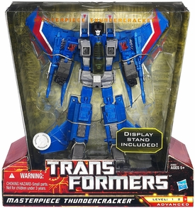 Transformers Universe Exclusive Deluxe Figure Masterpiece Thundercracker Damaged Package, Mint Contents!