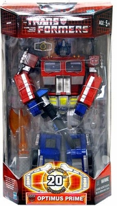 Transformers Hasbro Classics Figure 20th Anniversary Battle-Damaged Optimus Prime