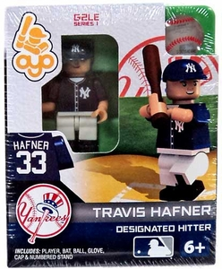 OYO Baseball MLB Generation 2 Building Brick Minifigure Travis Hafner [New York Yankees]